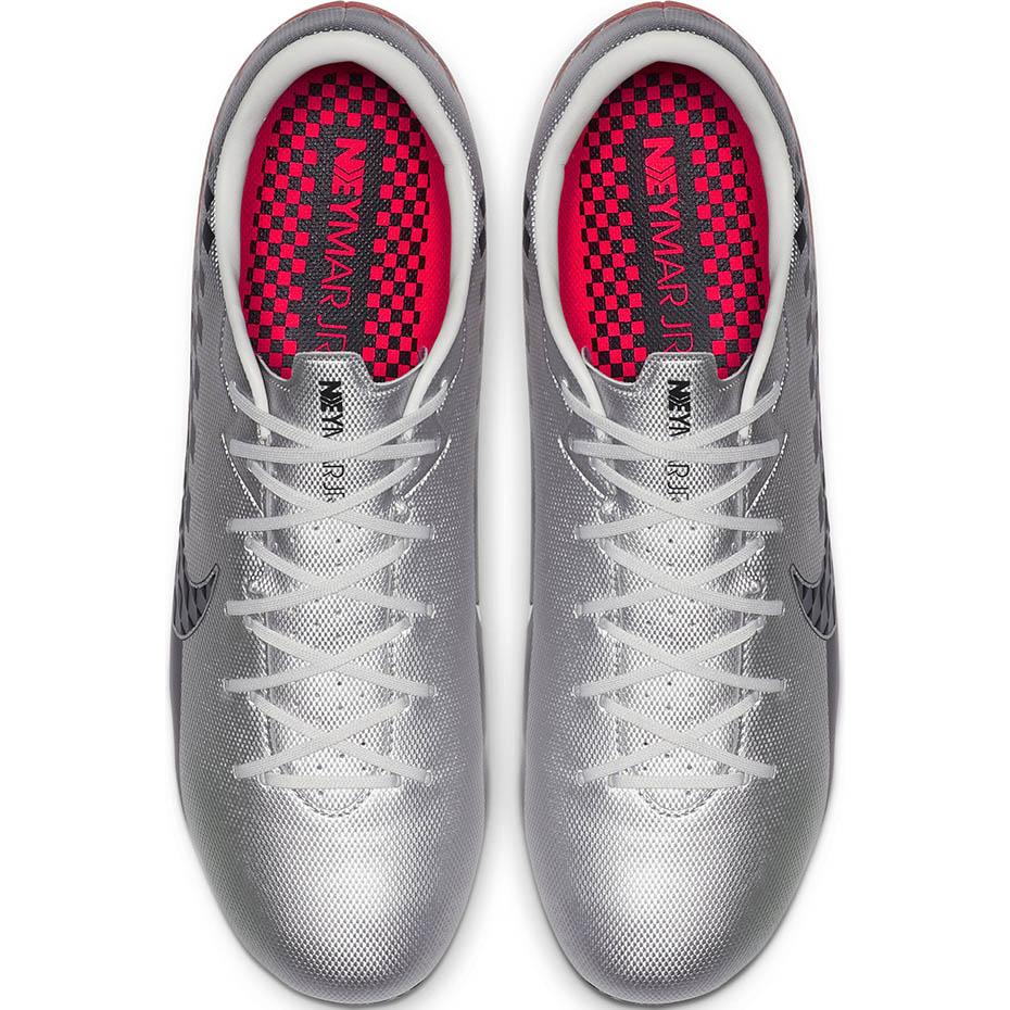 Szare buty piłkarskie Nike Mercurial Vapor Academy Neymar FG